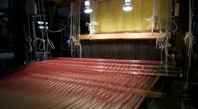 Production of handwoven velvets
