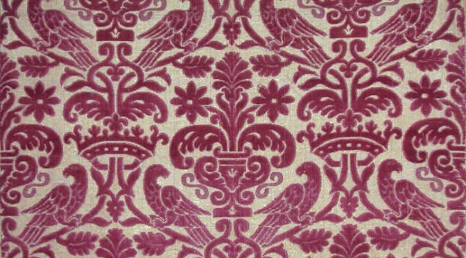 Luxury fabric silk 16th century | Tessitura Bevilacqua