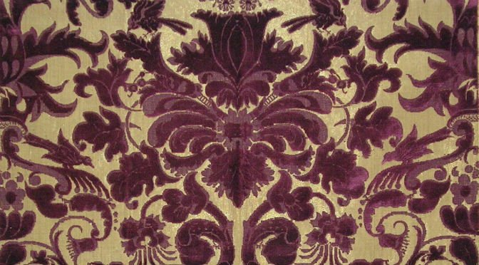 upholstery fabrics in the 17th century