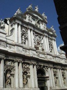 Italian velvet tapestry | Santa Maria del Giglio | Tessitura Bevilacqua
