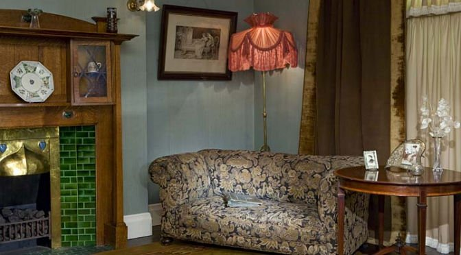 Living room 1910 | Chris Ridley | Tessitura Bevilacqua