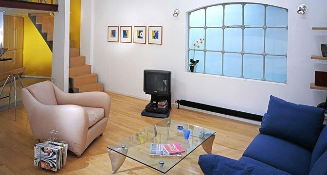 Living room 1998 | Chris Ridley | Tessitura Bevilacqua