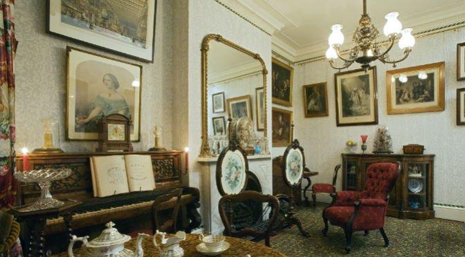 Living room 1870 | John Hammond | Tessitura Bevilacqua