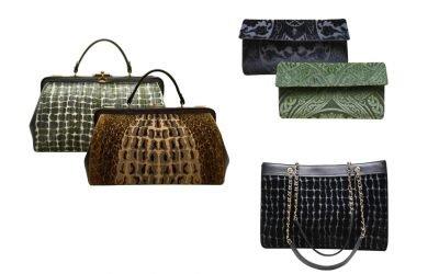 Le nuove borse in velluto firmate Bevilacqua
