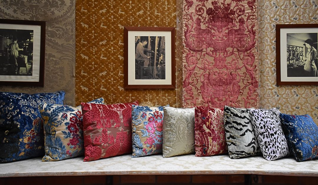 Cuscini Arredo Design.New Furniture Upholstery Fabrics And Projects At Milan Furniture Fair