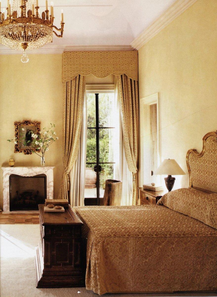 Velluto Bacchetta Rinascimento tende Architectural Digest 2012 | Tessiture Bevilacqua