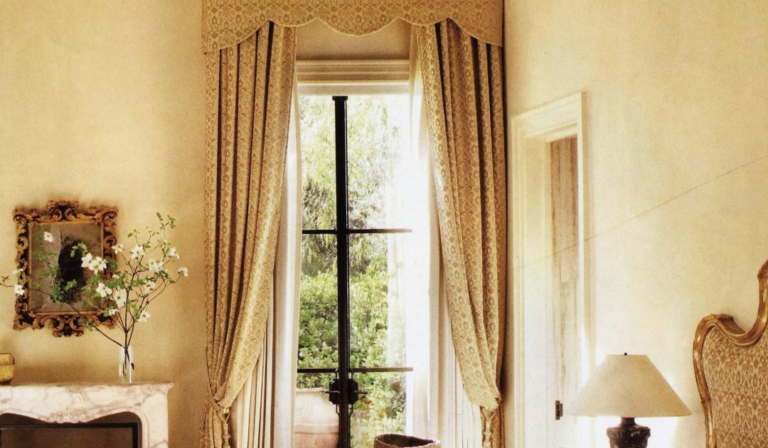 Velvet curtains: the secrets behind a distinctive furnishing item