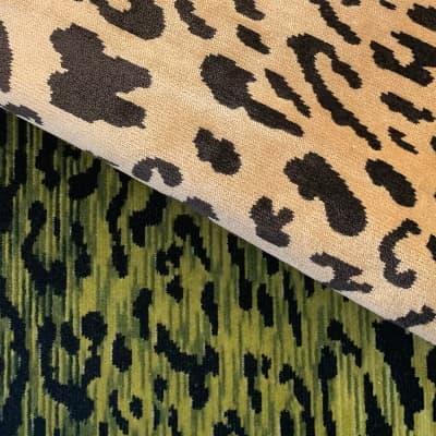 Velluto animalier Leopardo | Tessitura Luigi Bevilacqua
