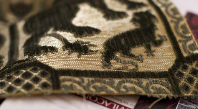 A Venetian velvet fabric by Bevilacqua