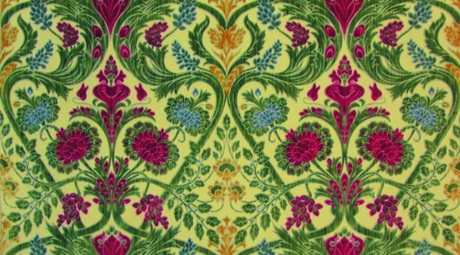 Fiori Liberty.The Flowers Of The Luxury Furnishing Fabrics In The Art Nouveau Period