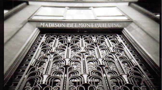 Madison Belmont Building - portale