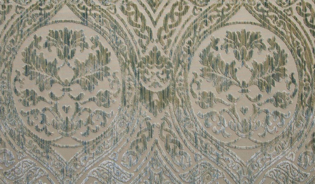 Da Vinci Velvet baltico 659-39243d motivi tessuti preziosi | Tessiture Bevilacqua