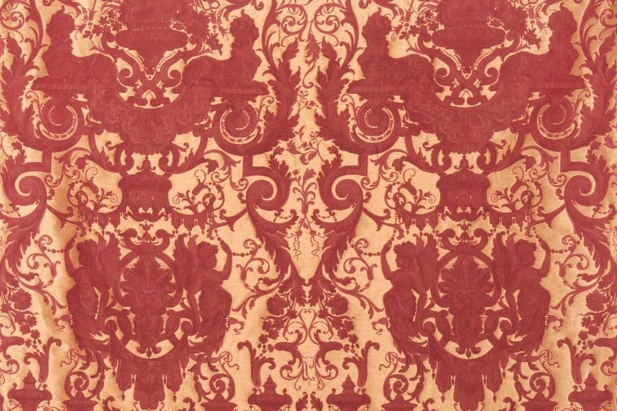 Broccatello Grottesche 107-34135 | Tessitura Bevilacqua