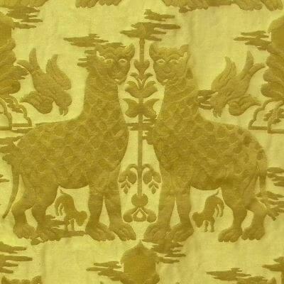 Broccatello Fiere 019-32973 oro | Tessitura Bevilacqua