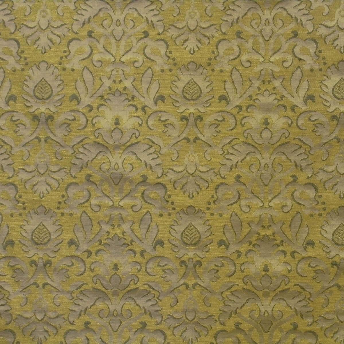 Broccatello Rinascimento 101-34361 oro antico | Tessiture Bevilacqua