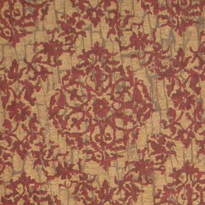 Broccatello Serto 107-34355 rosso antico | Tessiture Bevilacqua