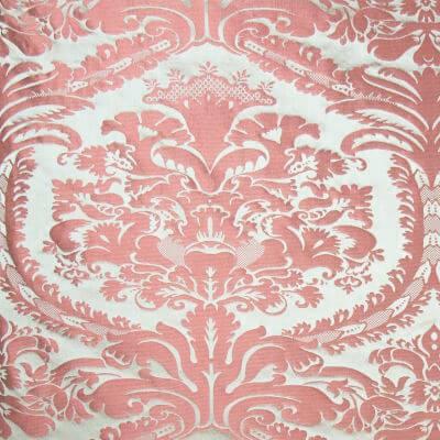 Damasco 31089 rosa 190-31089R | Tessitura Bevilacqua