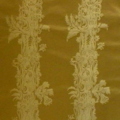 Damasco Bizar 160-3936 oro | Tessiture Bevilacqua