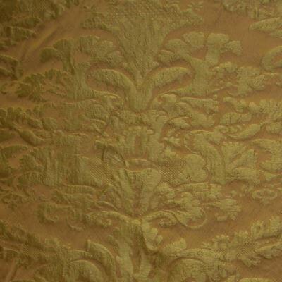 Damasco Craquelé 145-31089R giallo antico | Tessiture Bevilacqua
