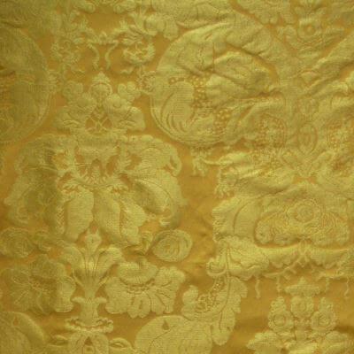 Damasco Craquelé Giardino 145-33077 giallo antico | Tessiture Bevilacqua