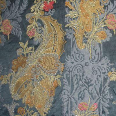Lampasso Bizar 179-3937 blu lamé | Tessiture Bevilacqua