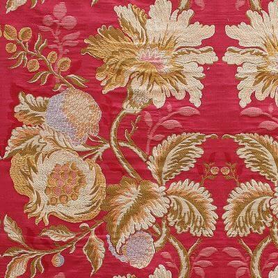 Lampasso Melograno 244-33990S rosso | Tessiture Bevilacqua
