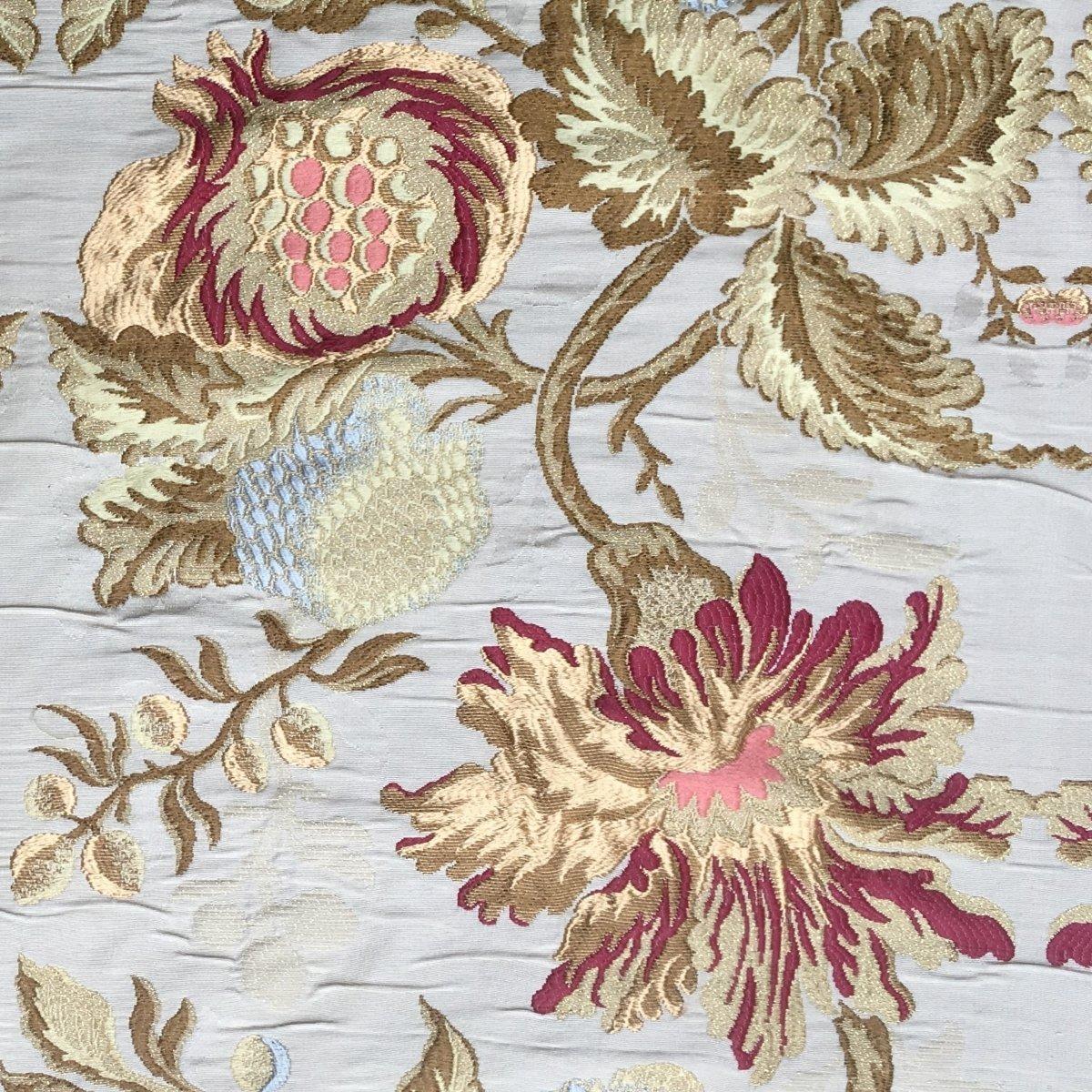 Lampasso Fiamma multicolore oceano 189-35069 | Tessiture Bevilacqua