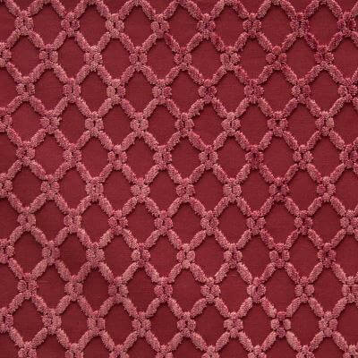 Velluto Griglia ibisco 650-3162d | Tessitura Bevilacqua