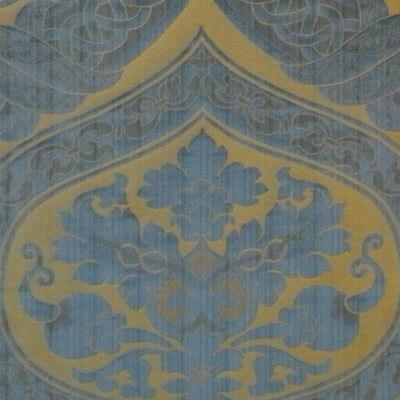 Broccatello Copenhagen 013-32431 azzurro | Tessitura Bevilacqua