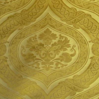 Broccatello Copenhagen 019-32431 oro | Tessitura Bevilacqua