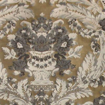 Broccatello Giardino Antico 101-34248 oro antico | Tessitura Bevilacqua