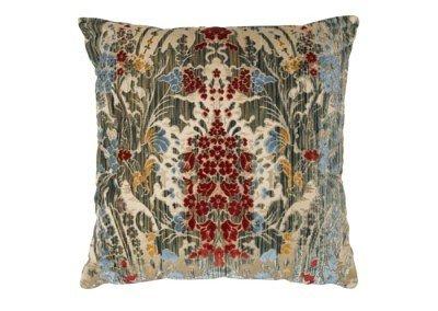 Fresie Multi-coloured Velvet Cushion