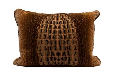 Coccodrillo Velvet Cushion