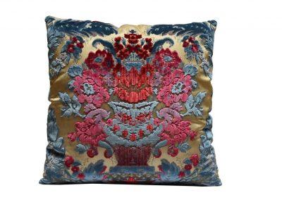 Бархатная подушка «Giardino Antico»