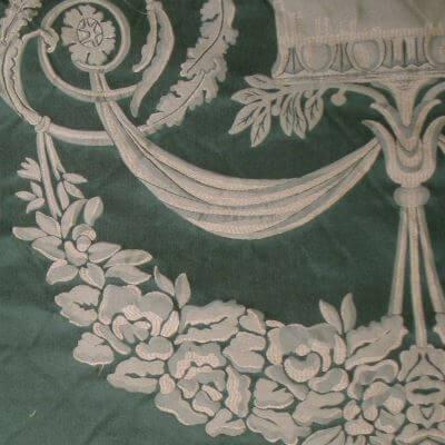 Damasco Fenice 168-31061 smeraldo | Tessiture Bevilacqua