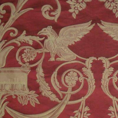 Damasco Fenice 174-31061 rosso | Tessiture Bevilacqua