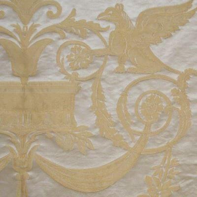 Damasco Fenice 176-31061 perla | Tessiture Bevilacqua