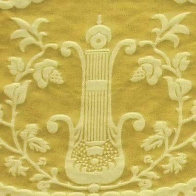 Damasco Termidoro 070-3691 giallo-beige | Tessiture Bevilacqua
