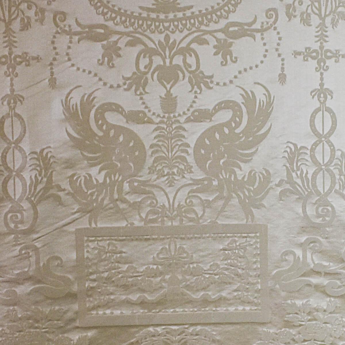 Damasco Termidoro 086-3691 perla-beige | Tessiture Bevilacqua