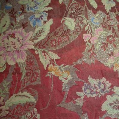 Lampasso Broccato 044-35139 rosso | Tessiture Bevilacqua
