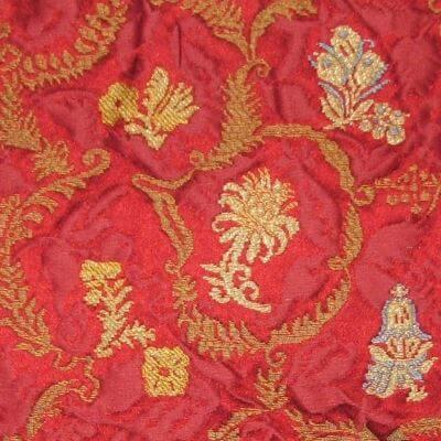 Lampasso Svezia 024-3380 rosso | Tessiture Bevilacqua