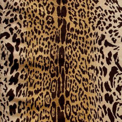 Velluto animale Leopardo 662/440 gardenia | Tessitura Bevilacqua