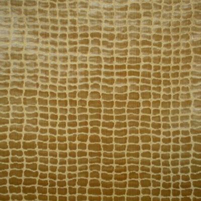 Velluto Animale Coccodrillo 095-3886 oro | Tessiture Bevilacqua