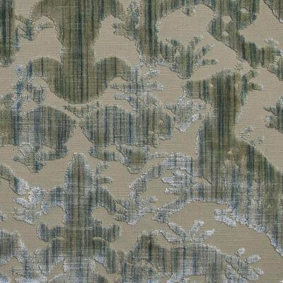 Velluto Bestiario baltico 659-3339 | Tessiture Bevilacqua