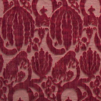 Velluto Caccia ibisco 650-3349d | Tessitura Bevilacqua