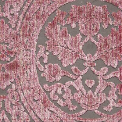 Velluto Da Vinci 668-39243D rosa antico | Tessiture Bevilacqua