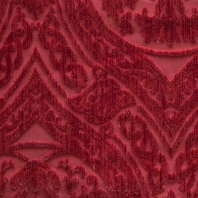 Velluto Da Vinci ibisco 650-39243d | Tessitura Bevilacqua