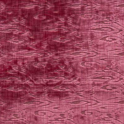 Velluto Radica ibisco 650-3840 | Tessitura Bevilacqua