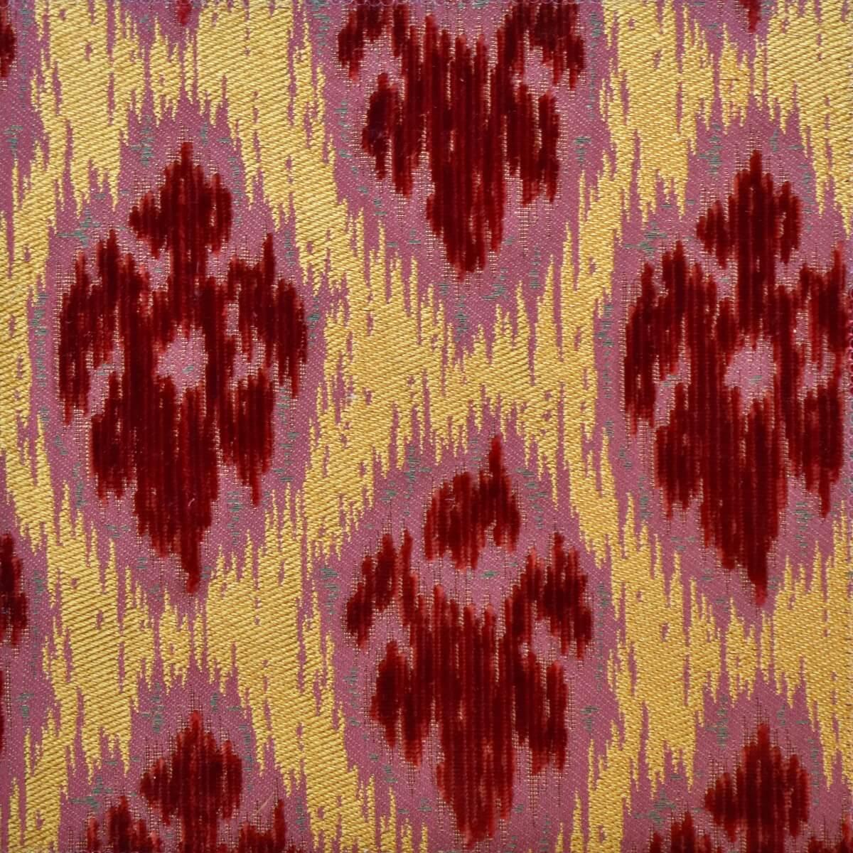 Velluto bacchetta Lancé 010-3370S rosso | Tessiture Bevilacqua
