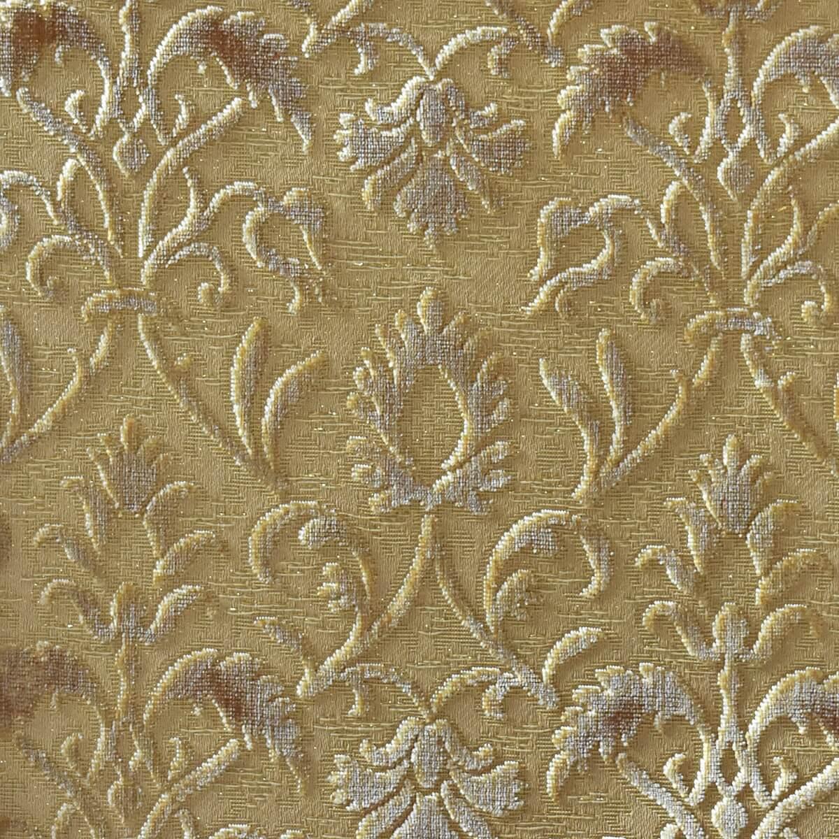Velluto bacchetta Rinascimento 205-39361S oro | Tessiture Bevilacqua